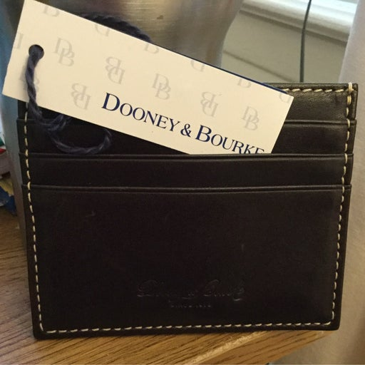 Dooney & Bourke Leather Card Holder