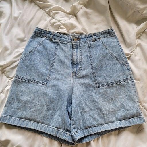 Vintage Vibes Jean Shorts