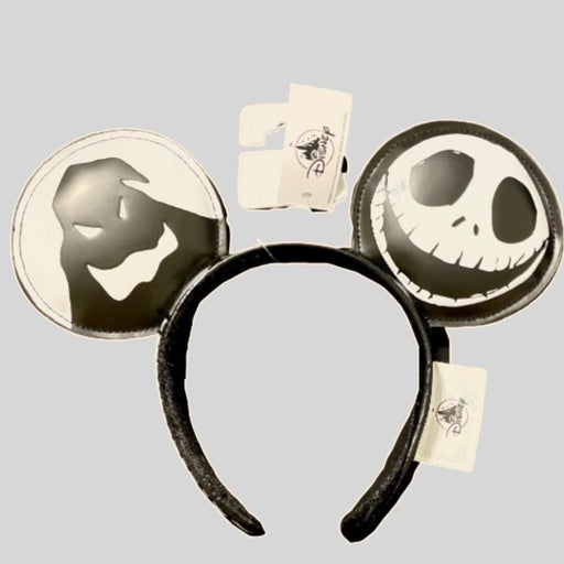 Disney Parks Nightmare Before Christmas Minnie Mouse Ears NWT