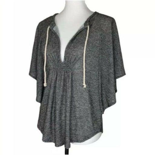 Loft Gray Knit Top Size XS