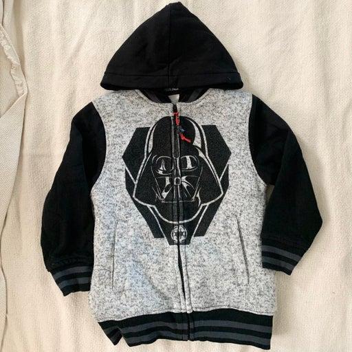 Darth Vader Zip-Up Hoodie
