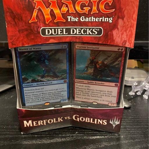 Magic: The Gathering Duel Decks: Merfolk vs. Goblins Box Set
