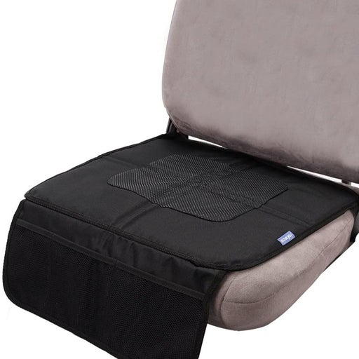 Car Seat Protector w 3 Mesh Pockets