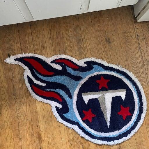 Handmade Tennessee Titans Rug