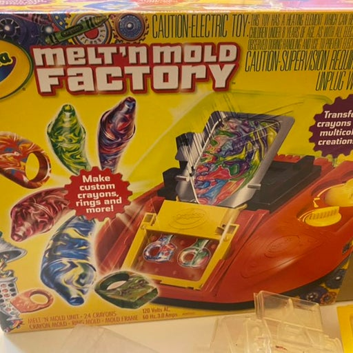 RARE Crayola Melt n Mold Factory!!