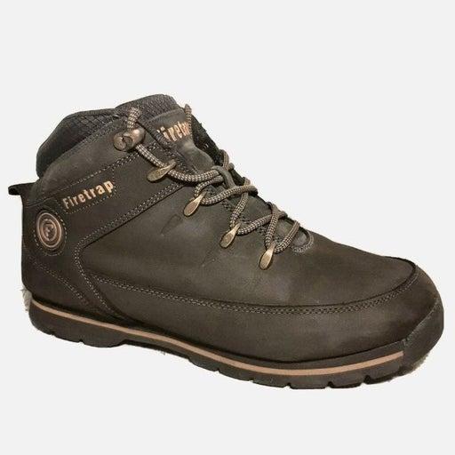 Firetrap Rhino Boots Mens 9.5 Brown Work