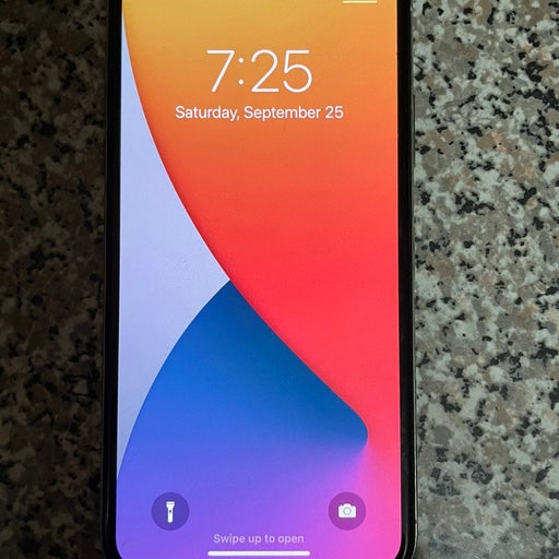 Apple iPhone X 256 GB in Silver for Unlocked