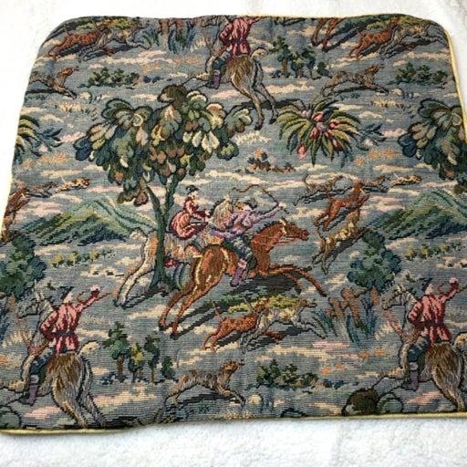 The Landmark Fox Hunt Custom Pillow Cvr