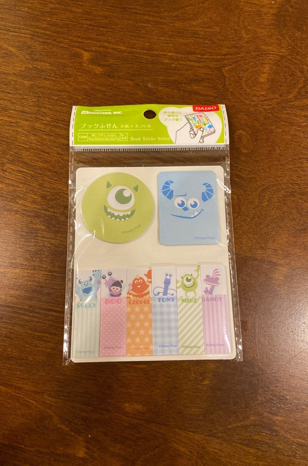 Monsters Inc Sticky Notes