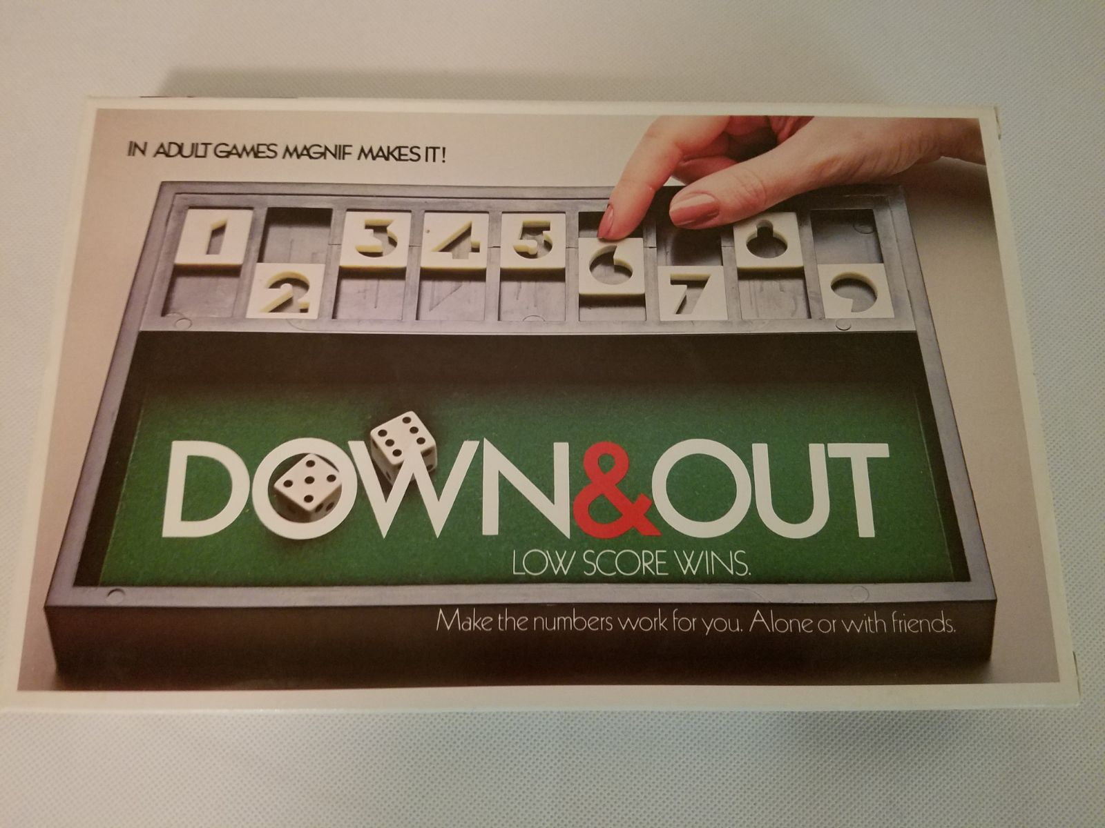 Down & Out Vintage Game