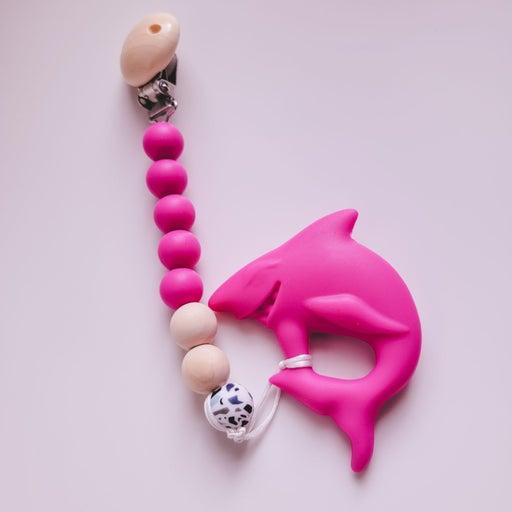 Baby Shark teething clip