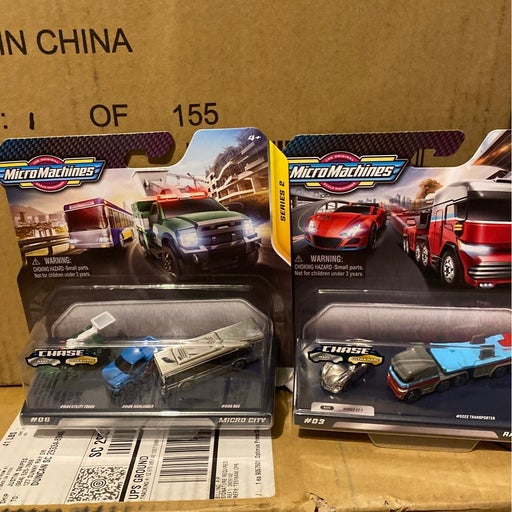 Micromachines Chase lot of 2