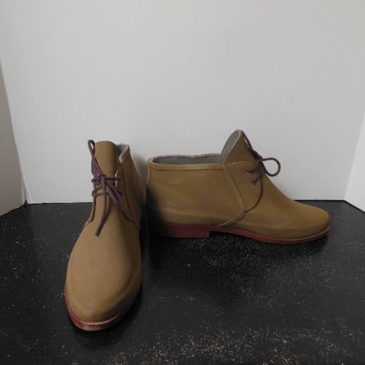 Nomad Tan Rubber Boots