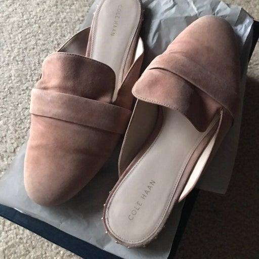 Cole Haan Mule Size 8.5 peach color
