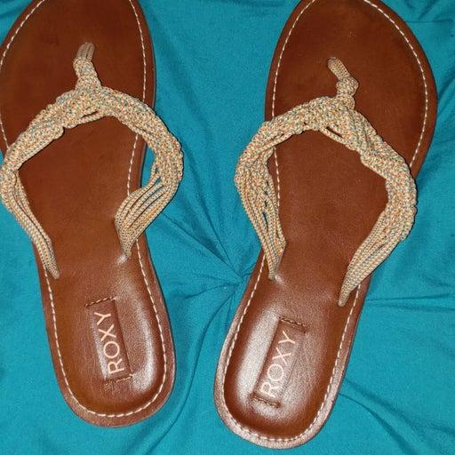 roxy flip flops sandals