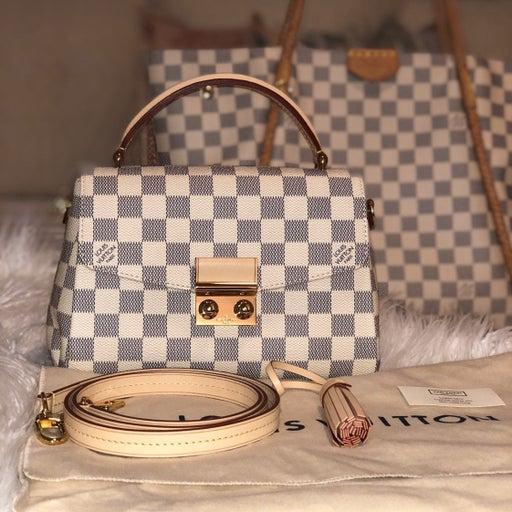 Louis Vuitton Croisette Damier Azur Canv