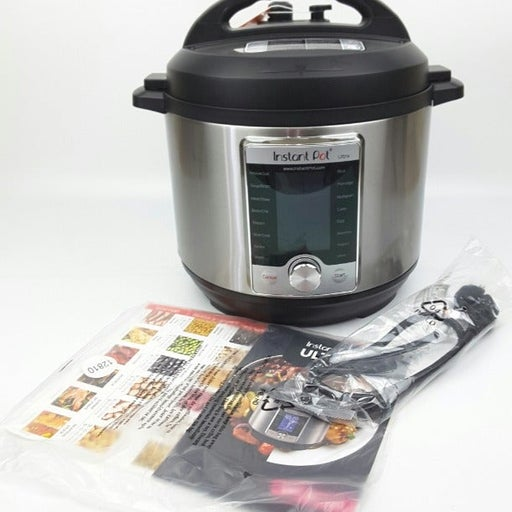 Instant Pot Ultra 6 Qt 10-in-1 Multi-Use Programmable Pressure Cooker (#42)