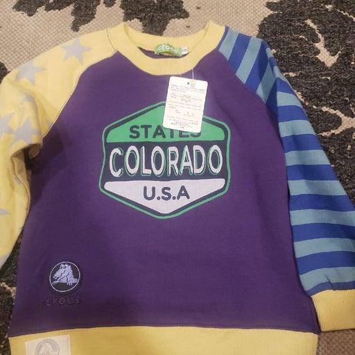 Kids Crocs sweatshirt for boys