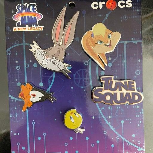 Crocs Space Jam Jibbitz