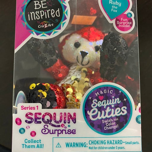"""Sequin Surprise Series 1 """"Ruby the Fox"""""""
