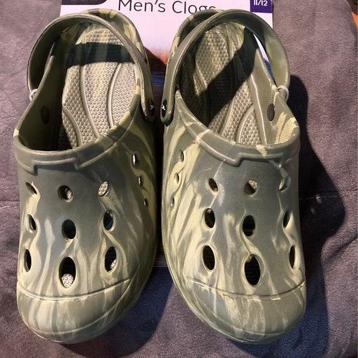 crane mens clogs crocs inspired 11/12 ne