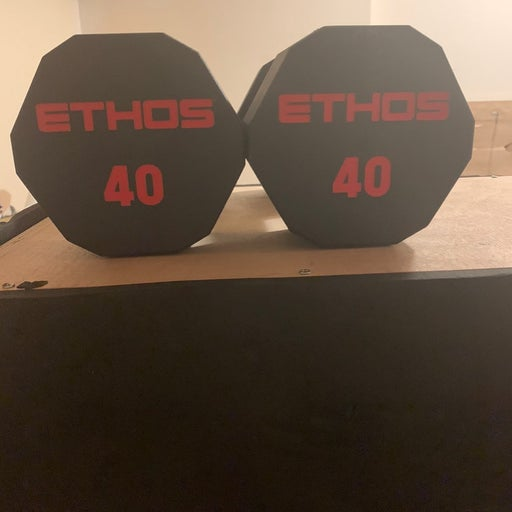 New Ethos 40lb Dumbbell Set