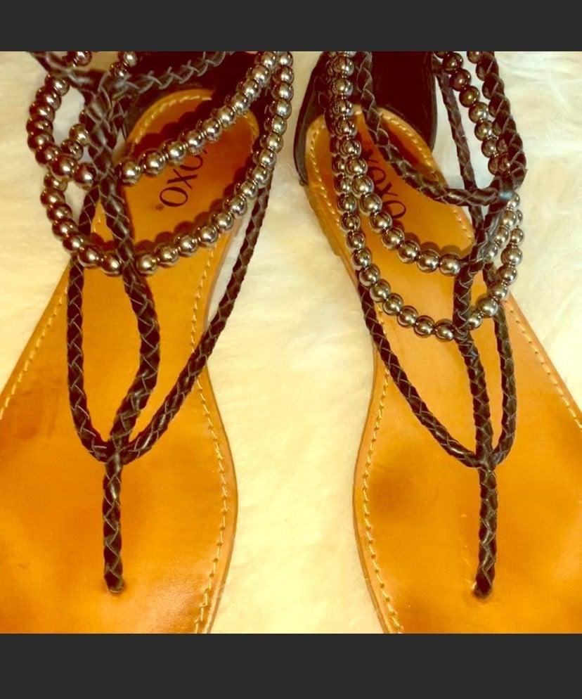 XOXO flat sandals