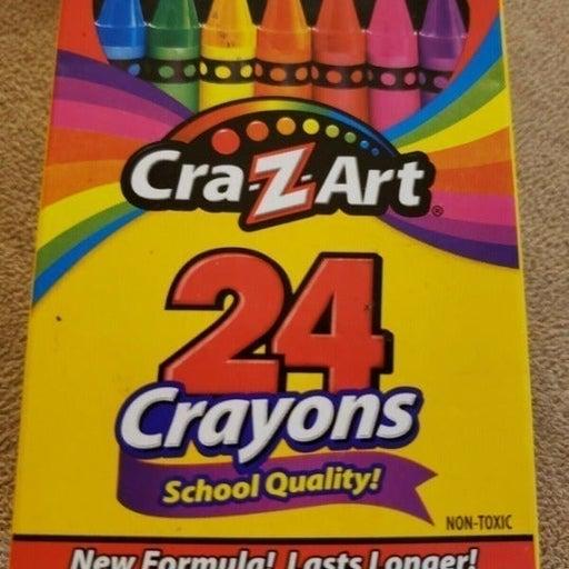 Crayons - 24 Count - Cra-Z-Art School