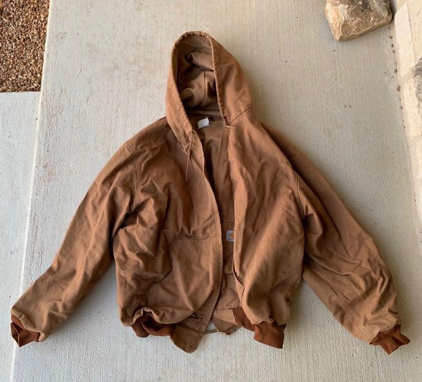 Carhartt Duck Quilted Winter Coat 3XL