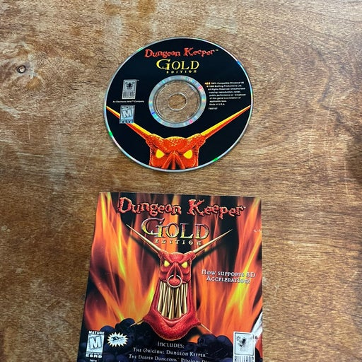 Dungeon Keeper Gold Edition - Bullfrog 1998 PC Game