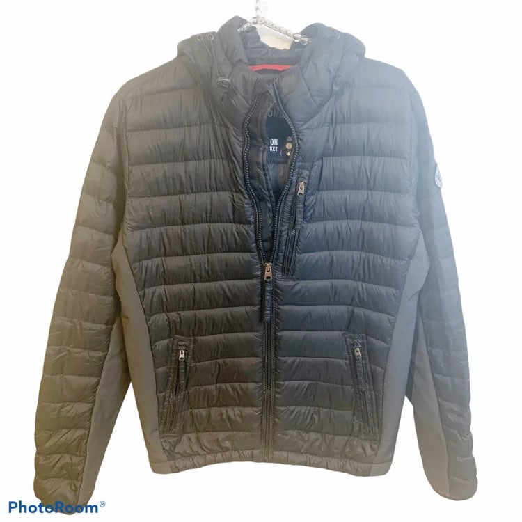 Abercrombie All Season Down Puffer Hoode