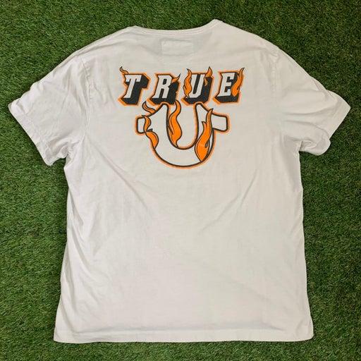 White True Religion T shirt