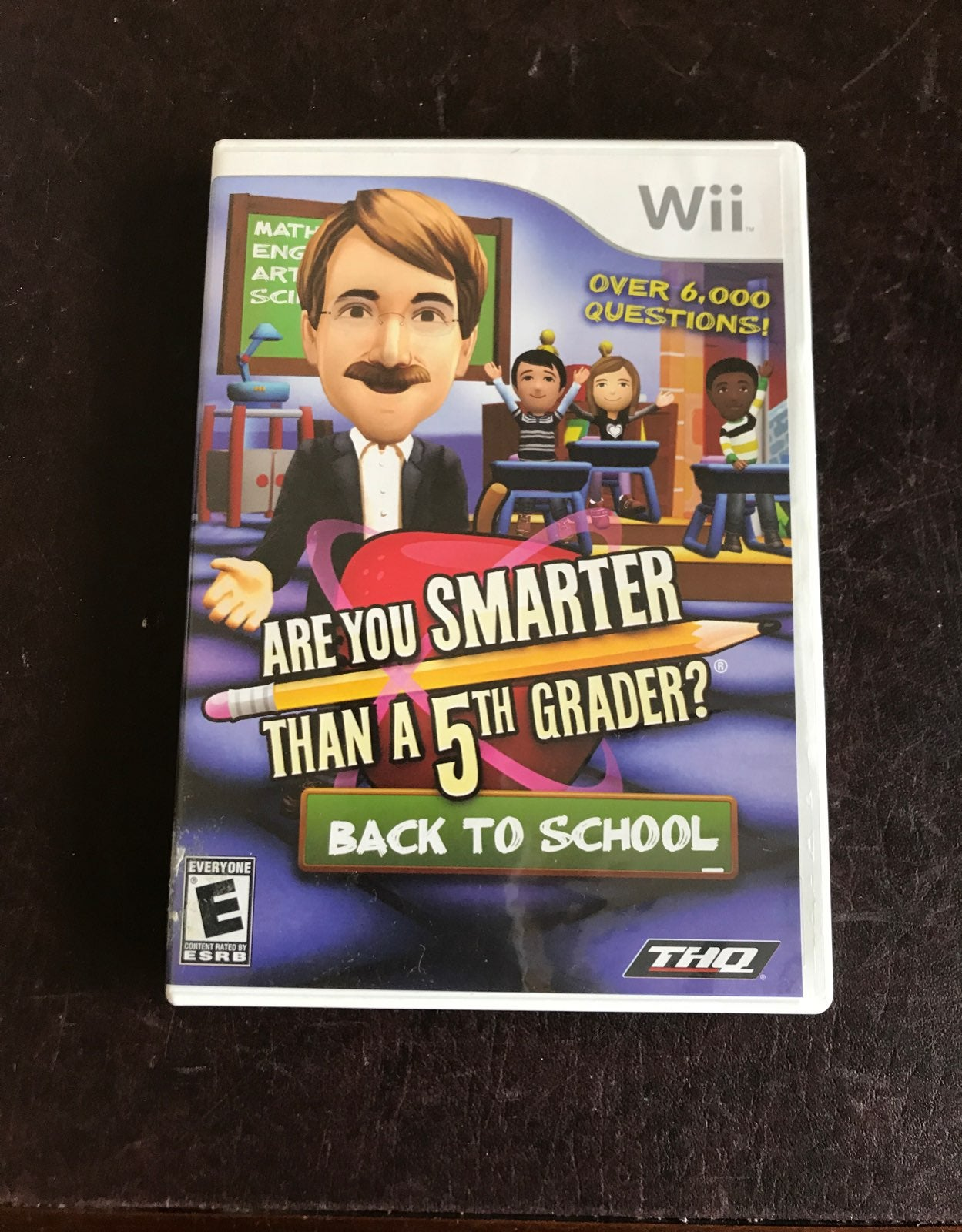 Wii Are you smarter than a 5th Grader?