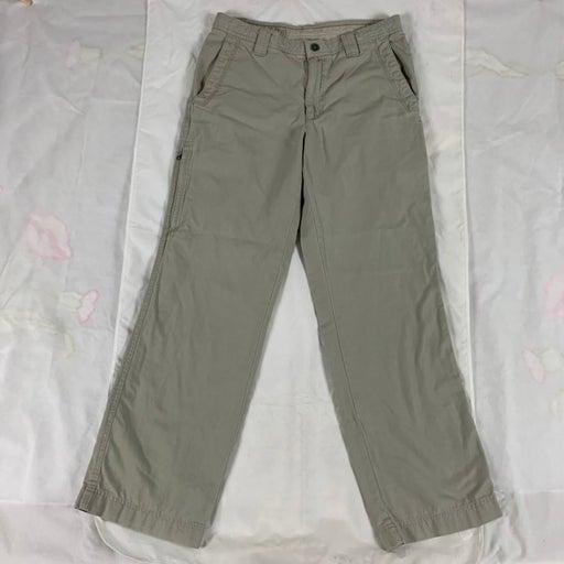 Columbia Pants Khaki Omni Shield 100% Cotton Cargo Sportswear Men Size 32 x 32