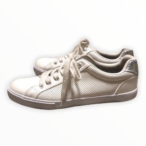 nautica white fashion sneakers