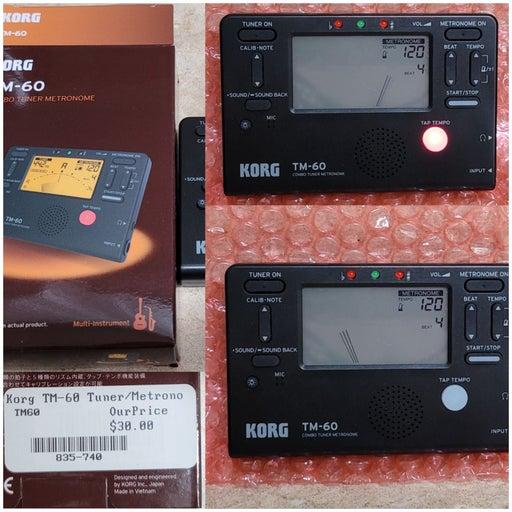 Korg TM-60 Turner/Metronome