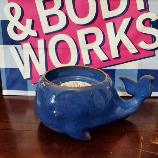 BBW Whale 3 Wick Candle Holder