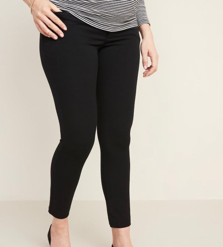 Old navy full panel pixie maternity pant