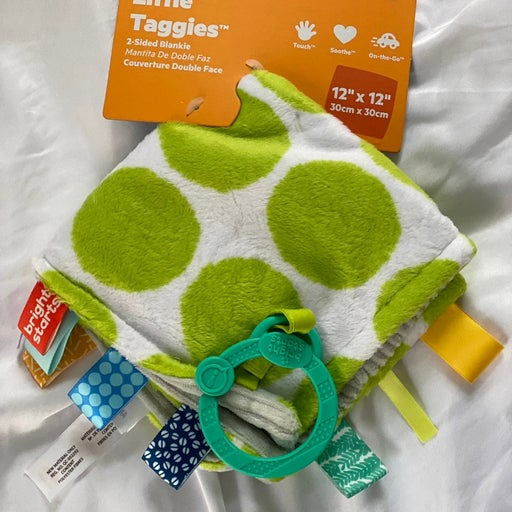 Bright Stars Soothing blanket 2 sided baby