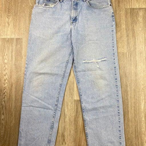 Vintage Lee light blue washed jeans