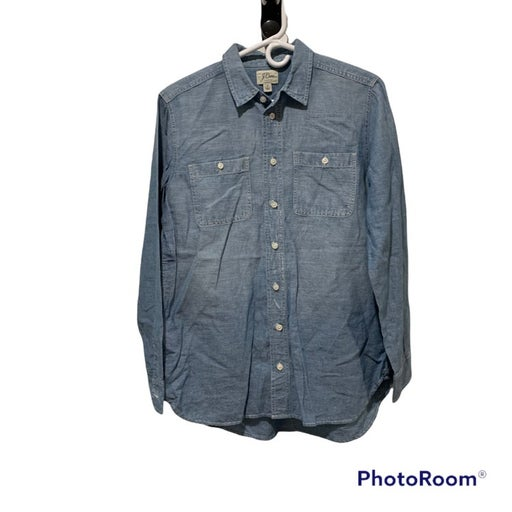 J. Crew Relaxed Chambray Boy Shirt Small