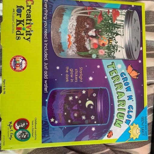 creativity for kids grow n' glow terrari