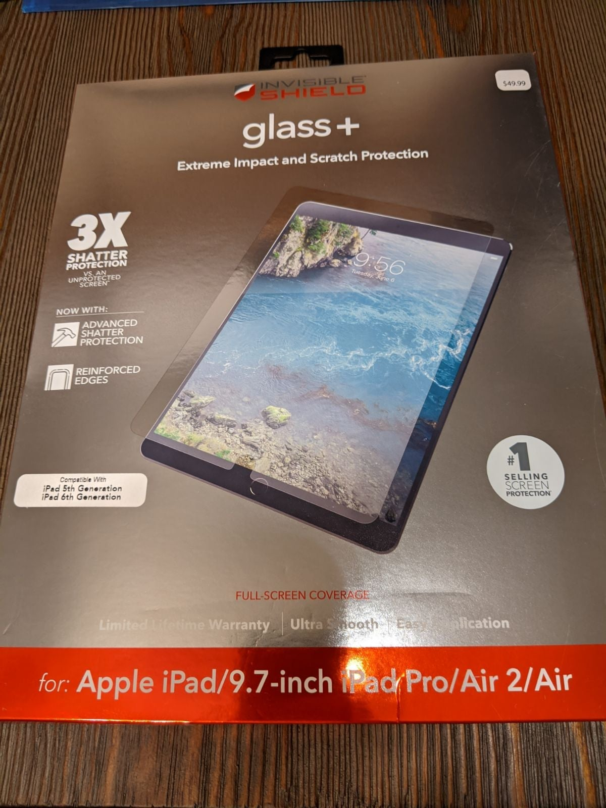 Invisible Glass iPad 5th/6th Generation
