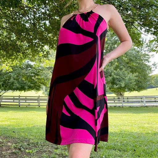 Mod halter dress