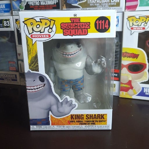King Shark Funko Pop 1114 suicide squad