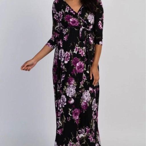Floral Maxi Pinkblush materinity dress