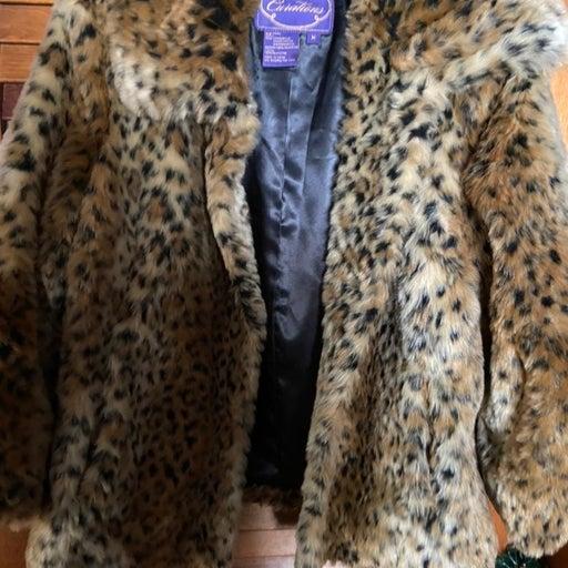 Curtations faux fur jacket