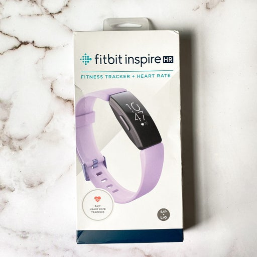 NEW Fitbit Inspire HR Fitness Activity Tracker + Heart Rate LILAC