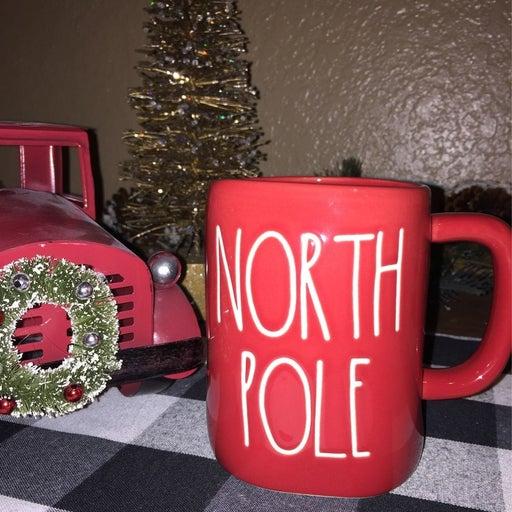 Rae Dunn Christmas NORTH POLE Mug