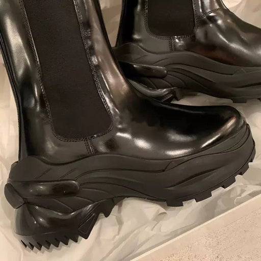 High top Black Boots